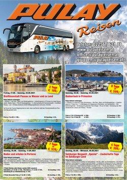Angebote von Pulay Reisen im Pulay Reisen Prospekt ( Mehr als 30 Tage)