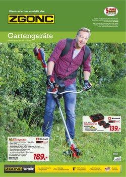 Angebote von Baumärkte & Gartencenter im Zgonc Prospekt ( Mehr als 30 Tage)