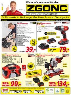Angebote von Baumärkte & Gartencenter im Zgonc Prospekt ( 14 Tage übrig)