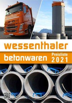 Angebote von Wessenthaler im Wessenthaler Prospekt ( Mehr als 30 Tage)