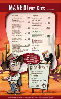 Angebote von Restaurants im Maredo Prospekt ( Mehr als 30 Tage)