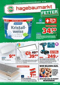Angebote von Baumärkte & Gartencenter im Fetter Prospekt in Wels ( 11 Tage übrig )