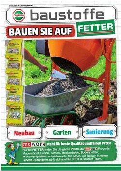 Angebote von Baumärkte & Gartencenter im Fetter Prospekt ( Neu)