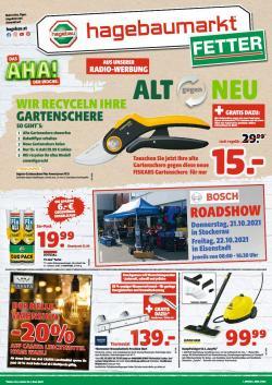 Angebote von Baumärkte & Gartencenter im Fetter Prospekt ( 4 Tage übrig)