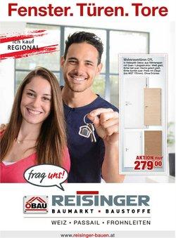 Angebote von ÖBAU Reisinger im ÖBAU Reisinger Prospekt ( Mehr als 30 Tage)