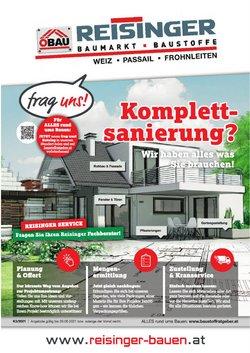 Angebote von Baumärkte & Gartencenter im ÖBAU Reisinger Prospekt ( 5 Tage übrig)