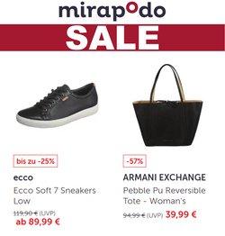 Angebote von Mirapodo im mirapodo Prospekt ( Läuft heute ab)