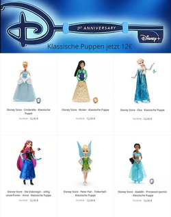 Angebote von Spielzeug & Baby im Disney Store Prospekt in Wien ( 7 Tage übrig )