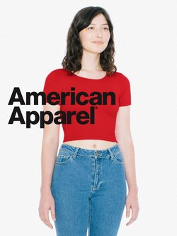 American Apparel Katalog ( 27 Tage übrig )