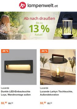 Angebote von Lampenwelt im Lampenwelt Prospekt ( 5 Tage übrig)