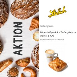 Angebote von Restaurants im Bäckerei Ströck Prospekt ( Mehr als 30 Tage)