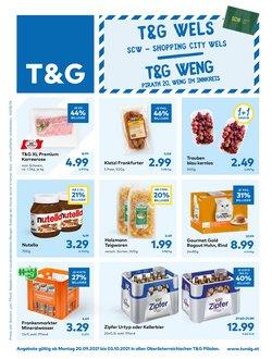 Angebote von T&G im T&G Prospekt ( Gestern veröffentlicht)