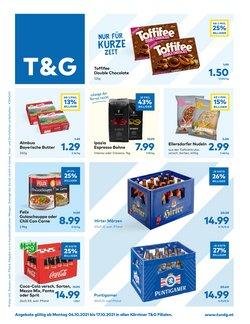 Angebote von T&G im T&G Prospekt ( Läuft morgen ab)