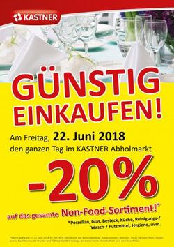 Angebote von Kastner im Wien Prospekt