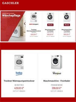 Angebote von Elektronik im Gaschler Prospekt ( 5 Tage übrig)