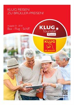 Angebote von Klug touristik im Wien Prospekt
