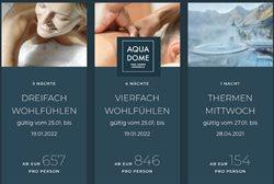 Angebote von AQUA DOME im AQUA DOME Prospekt ( Mehr als 30 Tage)