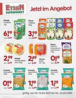 Angebote von Supermärkte im ETSAN Prospekt ( 2 Tage übrig )