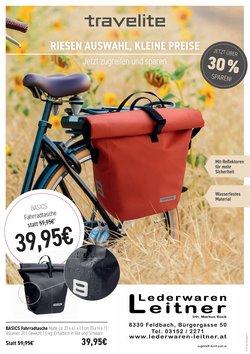 Angebote von Lederwaren Leitner im Lederwaren Leitner Prospekt ( 6 Tage übrig)