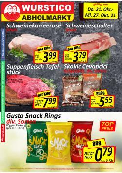 Angebote von Wurstico im Wurstico Prospekt ( Gestern veröffentlicht)