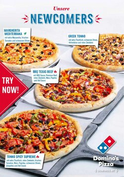 Angebote von Restaurants im Domino's Pizza Prospekt ( 8 Tage übrig)