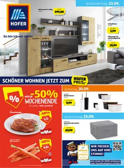 Angebote von Supermärkte im Hofer Prospekt ( Läuft heute ab)