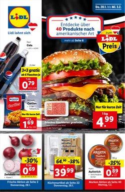 Angebote von Supermärkte im Lidl Prospekt ( Gestern veröffentlicht )