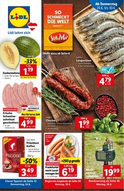 Angebote von Supermärkte im Lidl Prospekt ( 7 Tage übrig)