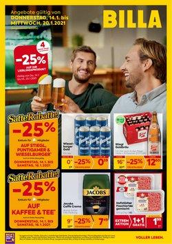 Angebote von Supermärkte im Billa Prospekt in Wels ( 2 Tage übrig )