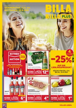 Angebote von Supermärkte im Billa Prospekt ( Läuft heute ab)