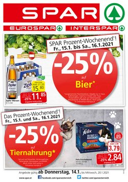 Angebote von Supermärkte im Spar Prospekt in Wels ( 2 Tage übrig )
