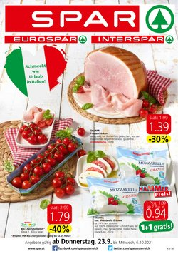 Spar Katalog ( Gestern veröffentlicht)