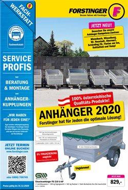 Forstinger Katalog in Salzburg ( Mehr als 30 Tage )