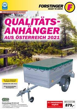Angebote von Auto, Motorrad & Zubehör im Forstinger Prospekt ( Mehr als 30 Tage)