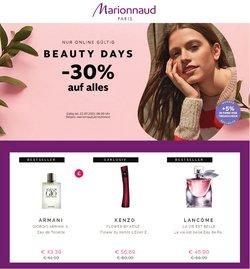Angebote von Marionnaud im Marionnaud Prospekt ( 6 Tage übrig)