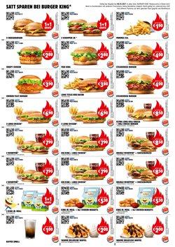 Angebote von Restaurants im Burger King Prospekt ( 2 Tage übrig )