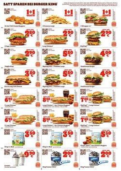 Angebote von Restaurants im Burger King Prospekt ( 8 Tage übrig)