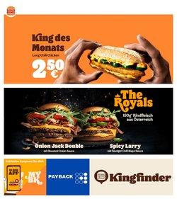 Angebote von Restaurants im Burger King Prospekt ( 3 Tage übrig)