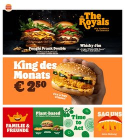 Angebote von Burger King im Burger King Prospekt ( 4 Tage übrig)