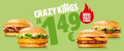 Angebote von Restaurants im Burger King Prospekt in Mistelbach