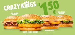 Angebote von Restaurants im Burger King Prospekt in Salzburg