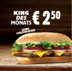 Burger King Coupon in Wels ( 12 Tage übrig )