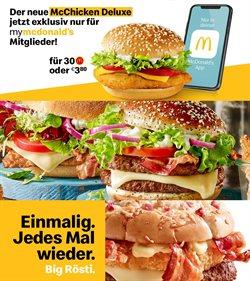 Angebote von Restaurants im McDonald's Prospekt in Wels ( 27 Tage übrig )