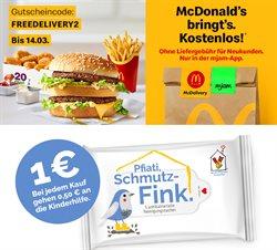 Angebote von Restaurants im McDonald's Prospekt ( 13 Tage übrig )