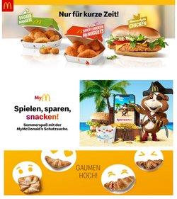 Angebote von McDonald's im McDonald's Prospekt ( 3 Tage übrig)