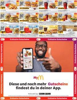 Angebote von Restaurants im McDonald's Prospekt ( 12 Tage übrig)