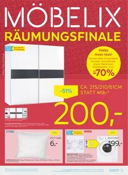 Angebote von Möbel & Wohnen im Möbelix Prospekt ( 6 Tage übrig)