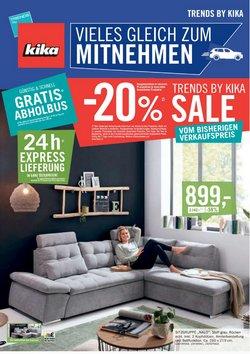 Angebote von Möbel & Wohnen im kika Prospekt ( 6 Tage übrig)