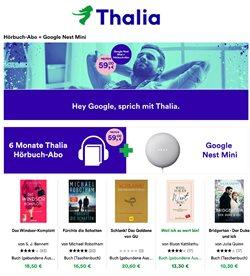 Angebote von Bücher & Bürobedarf im Thalia Prospekt ( Mehr als 30 Tage )