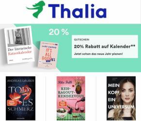 Angebote von Bücher & Bürobedarf im Thalia Prospekt ( Gestern veröffentlicht)